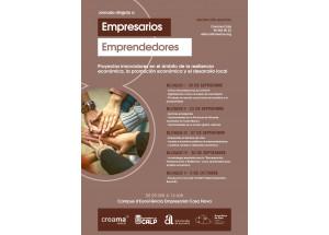 Formació dirigida a emprenedors i empresaris. Projectes innovadors en l'àmbit de la resilencia, la promoció econòmica i el desenvolupament local