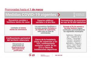 Noves mesures addicionals a conseqüència de la situació de crisi sanitària