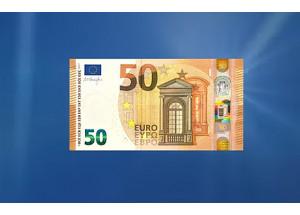 El nuevo billete de 50 euros empezará a circular el 4 de abril