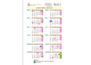 Calendario Comercial 2018
