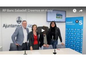 Presenten la campanya 'Creemos en Alcoi' per al comerç local