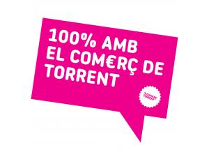 """CAMPANYA """"100% AMB EL COMERÇ DE TORRENT"""""""