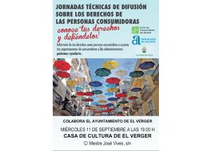 JORNADA SOBRE DERECHOS DE LOS CONSUMIDORES Y USUARIOS