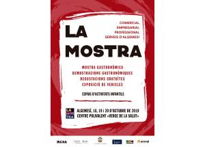 LA MOSTRA D'EMPRESES, COMERÇOS I PROFESSIONALS D'ALGEMESI -18, 19 i 20 octubre