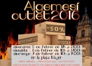 FERIA OUTLET ALGEMESI 2016