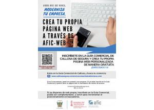 Callosa impulsa un proyecto web para comercio y profesionales