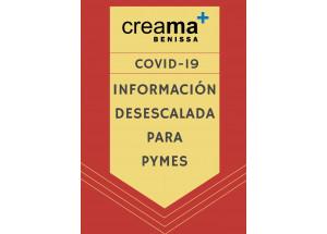 COVID-19, INFORMACIÓN DE LA DESESCALADA PARA PYMES.