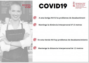 CARTEL INFORMATIVO INDICACIONES CORONAVIRUS (COVID-19) EN EL COMERCIO LOCAL.
