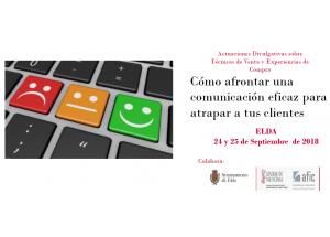 TALLER: COM AFRONTAR UNA COMUNICACIÓ EFICAÇ PER A ATRAPAR ELS TEUS CLIENTS