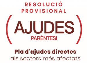 Resolución provisional ayudas PARENTESIS - PLAN RESISTIR Benissa