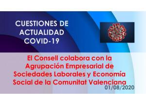 El Consell colabora con la Agrupación Empresarial de Sociedades Laborales y Economía Social de la Comunitat Valenciana