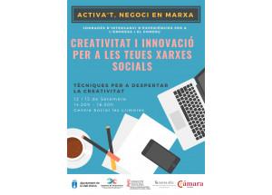 TALLER: CREATIVIDAD E INNOVACIÓN PARA TUS REDES SOCIALES