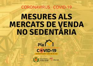 Vila-real reanuda el mercado ambulante de alimentación este sábado 2 de mayo, pero con nueva ubicación