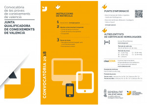 L'ADL-AFIC D'ONDARA INFORMA: JQCV Convocatòria proves de valencià 2018
