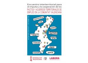 ENCUENTRO INTERTERRITORIAL PARA EL IMPULSO Y LA COOPERACIÓN DE LOS PACTOS Y ACUERDOS TERRITORIALES DE EMPLEO EN LA COMUNIDAD VALENCIANA. Burjassot.