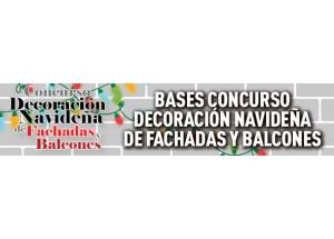 CONCURSO DE DECORACIÓN NAVIDEÑA DE FACHADAS Y BALCONES