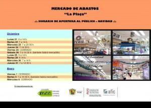 HORARIO DE NAVIDAD-MERCADO