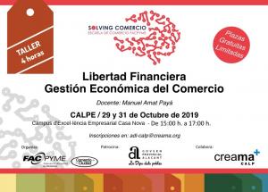 Llibertat financera. Gestió Econòmica del Comerç