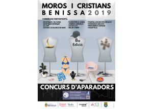YA SE PUEDEN VISITAR LOS 11 PARTICIPANTES DEL 8º CONCURSO DE ESCAPARATES DE MOROS Y CRISTIANOS DE BENISSA.