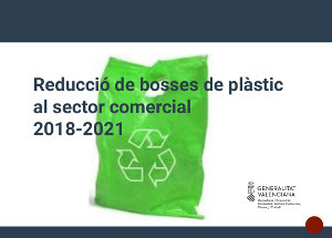 Reducción de bolsas de plástico en el comercio