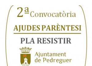 2ª convocatoria Ayudas Paréntesis del Plan Resistir en Pedreguer