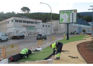 El polígono Santiago Payá mejorará su zona verde