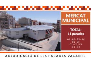LICITACIÓ PARADES VACANTS MERCAT MUNICIPAL