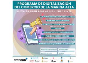 V edición del Ciclo Formativo de Comercio de Creama. Digitalización Comercial