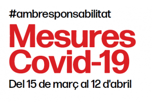 Actualización COVID-19: Medidas 15 de marzo al 12 de abril de 2021