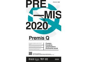 """CONVOCATÒRIA PREMIS """"Q"""" Al COMERÇ,  LA INICIATIVA EMPRENEDORA I  L'ECONOMIA SOCIAL 2020."""