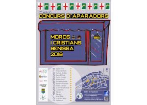 JA ES PODEN VISITAR ELS 16 APARADORS PARTICIPANTS EN EL 7e CONCURS D'APARADORS DE MOROS I CRISTIANS.