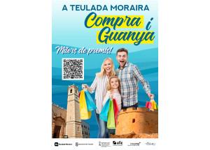 """Campaña """"COMPRA Y DISFRUTA EN TEULADA MORAIRA, TODOS GANAMOS"""""""