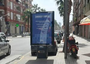 """""""Activem Alfafar"""" es presenta a la ciutadania a través de mobiliari urbà informatiu"""