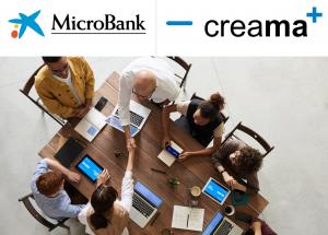CREAMA y MicroBank firman un convenio de colaboración para incentivar el autoempleo y la actividad emprendedora.
