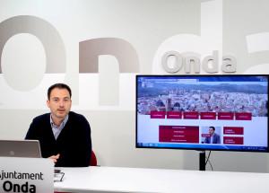 L'Ajuntament d'Onda presenta una pàgina web renovada, més actualitzada i accessible