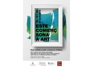 Alzira - Este comerç sona a art