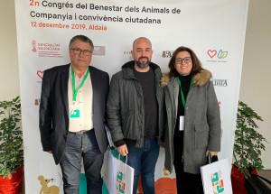 Se presenta la campaña 'El repte dels 21 dies' en el Congrés de Benestar dels Animals de Companyia