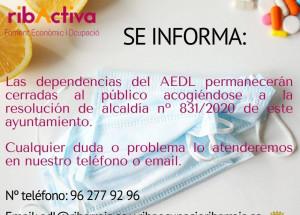 La Agencia de Empleo y Desarrollo Local (ADL) informa: