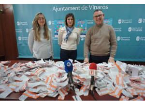 """Comercio reparte mil euros entre los participantes de la campaña """"Comprar a Vinaròs té Premi"""