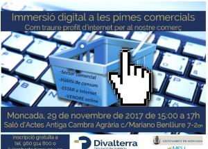 Jornada Inmersión Digital de las pymes comerciales (Moncada)