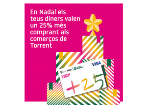 NADAL AMB LA TARGETA +25