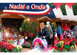 Onda prepara un Mercado de Navidad repleto de actividades infantiles