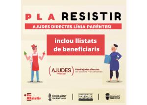 PLA RESISTIR - AJUDES PARÈNTESI AJUNTAMENT DE TORRENT