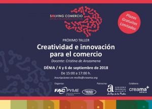 CURSO CREATIVIDAD E INNOVACIÓN PARA EL COMERCIO