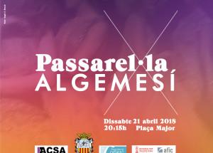 PASSAREL·LA ALGEMESI