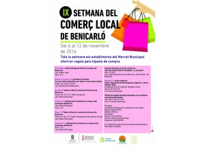 Benicraló. La Semana del Comercio Local llega a la novena edición