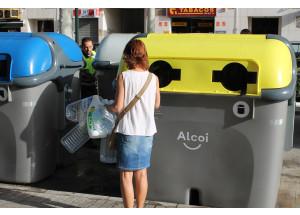 Augmenta el reciclatge en Alcoi