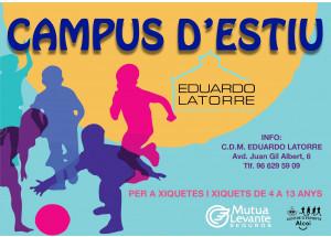 El Campus de Verano del Eduardo Latorre vuelve del 6 al 31 de julio