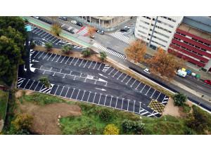 Alcoy tendrá 382 plazas nuevas plazas de aparcamiento en las inmediaciones del eje ciclopeatonal