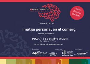 AFIC-CREAMA PEGO OFRECE EL TALLER IMAGEN PERSONAL EN EL COMERCIO